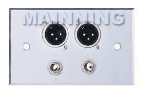 2MIC+2Audio Wall Plates Model:61-0028