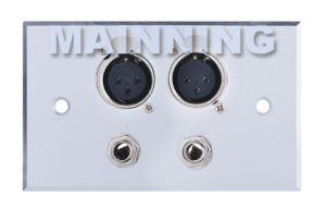 2MIC+2Audio Wall Plates Model:61-0029
