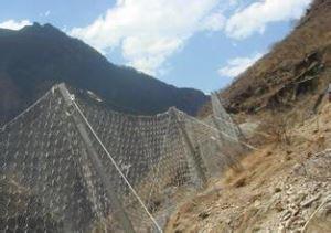 Falling Rock Prevention Net