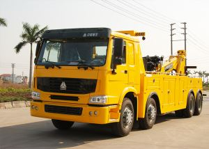 Heavy Tray Lift Wrecker Special Chassis