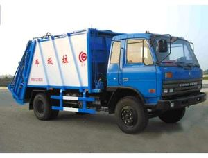 Swing Arm Type Garbage Truck