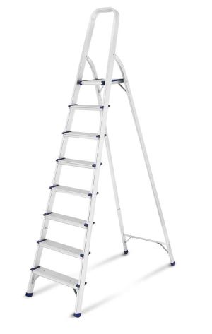 8 Steps Aluminum Household Ladder With EN131 Approval