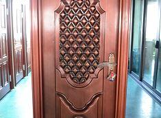 Woodgrain Aluminium Doors