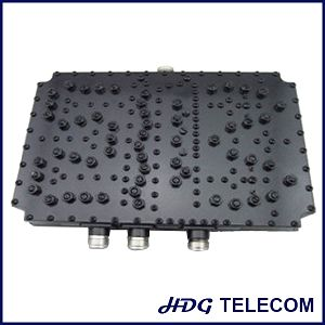 1710-1880/1920-2170/2400-2500MHz Three Band Combiner, DCS/3G /WLAN Combiner