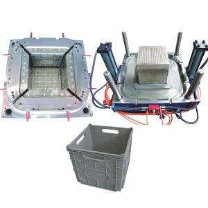 Plastic Injection Crate Box Mold