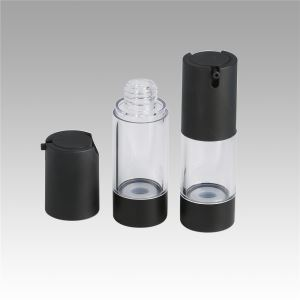 Hot Sale Fashion Black Airless Bottle Cosmetic Package