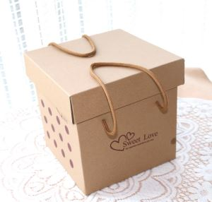 Kraft Paper Box for shoes