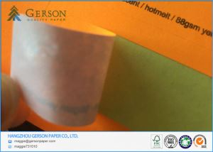 Fluoresence Water Based Adhesive Paper