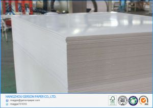 Clay Coated Duplex Board With Grey Back 230-450gsm