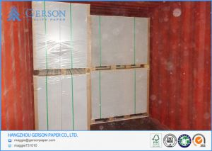 Grade AA White Back Coated Duplex Board Grey Back By Waste Paper