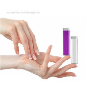 Portable USB External 2600mAh Battery Charger Gifts Single Cell Power Bank for Cell Phone