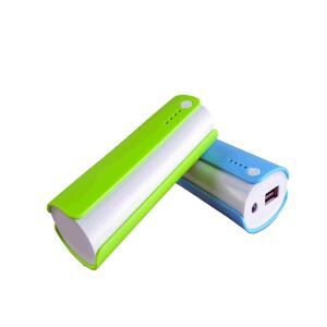 Portable USB External 2600mAh Battery Charger GiftsTwo 18650 Power Bank for Cell Phone