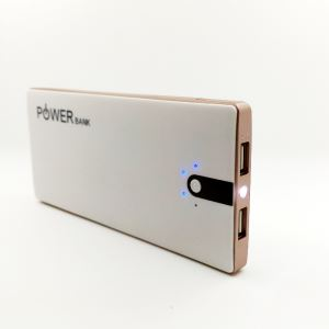 NEW Universal Qi Wireless Charger Charging Pad Power Bank 8000mA with LED Light & Micro-USB  for Smart Phone