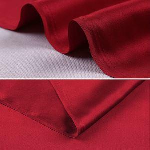 Luxury Doubleside Heavy Silk Satin Fabric For Silk Wedding Dress Party dress