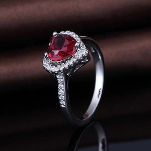 Ruby Gemstone Unique On Sale Women Ring Designs