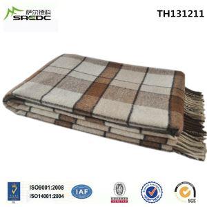 Full Size Warm and Soft Tartan Plaid 100% Pure Wool Throw Blanket