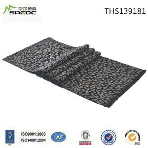Woven Jacquard Fashion Leopard 100% Silk Scarf