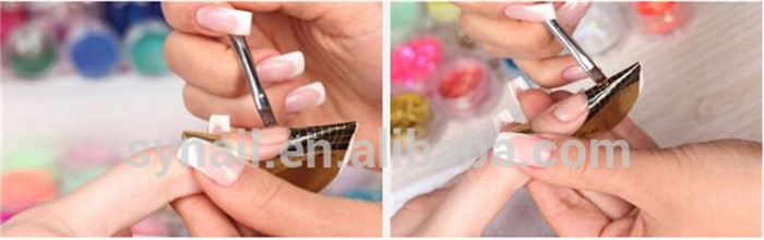 3 Colors IBD Soak Off Strong UV Builder Gel Extension Nail Polish Manicure 56g