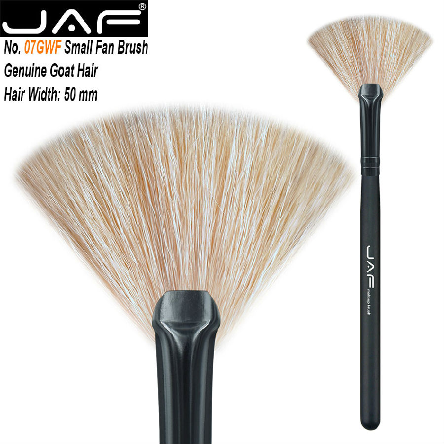 Goat hair fan brush