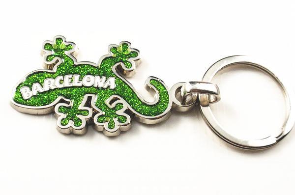 BARCELONA lizard keychain .jpg