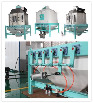 20t/H Swing Pellet Cooler Machine For Pellet Cooling