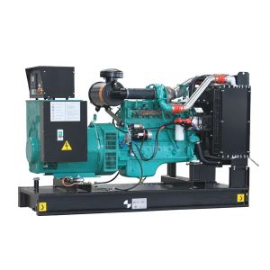 Brand New 188~250KVA Cummins Engine Powered Diesel Generator Set Open Type in 50Hz