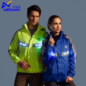 Hot Sale LED Leisure And Outdoors Sports Coat LED Leisure Coat For Night Sport