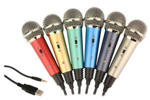 16 Bit Multicolor Cheap USB Condenser Microphone