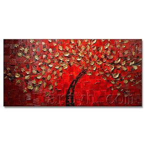 Tree Oil Painting Images Free Download