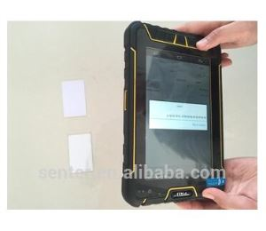 ST907W-J 7 Inch android Mobile Industrial Tablet PC with 1D Laser Barcode Scanner