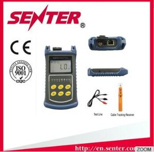 ST007 Optical Power Meter, VFL, Cable Tracker, Check Line Sequence Hand Held Fiber and Copper Cable Tester