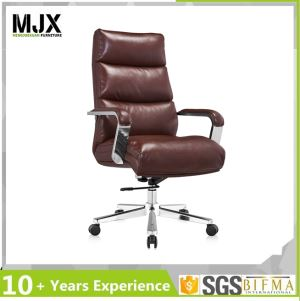 High Back Leather Executive Revolving Office Chair