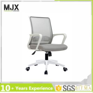 White Mesh Task Chair with Lumbar Support