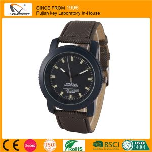 New Cheap Waterproof Branded Watches for Men Leather Band Watches