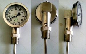 Theory and Outdoor Usage Oil Filled Type industrial Thermometer with Remote Transmission