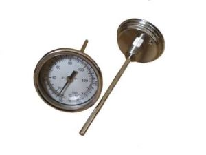 Easy Use Small Cooking Oven Meat Thermometer Temperature Gauge