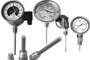 Electric Contact and Warning Function High Temperature industrial Use Adhensive Thermocouple Boiler Thermometer