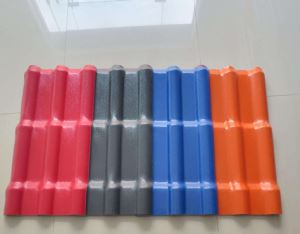 Chinese Good Quality Products Synthetic Resin Tile Type Four Layers/Corrugated Roofing Sheet/ Synthetic Resin Colorful Roof Tile with Good Price