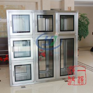 High Quality Stainless Steel Piece Transfer Window with UV Lamp