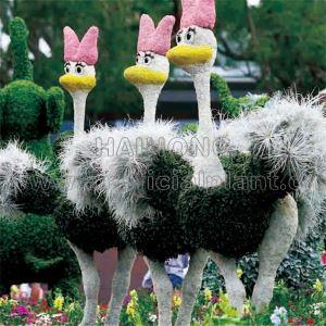 Artificial GRC Sculptures FRP Trees Plants Landscaping