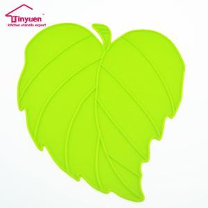 Leaf Shape Silicone Heat Resistant Hot Mat