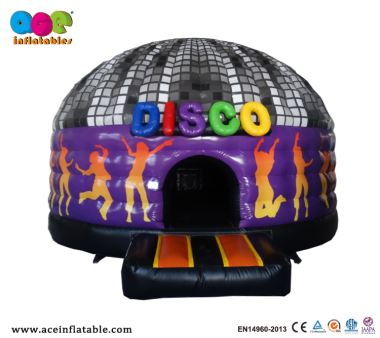 Best Seller Music Inflatable Disco Dome Bounce House with Lighting