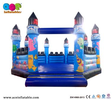 Sea World Commercial Blow Up Inflatable Jump House