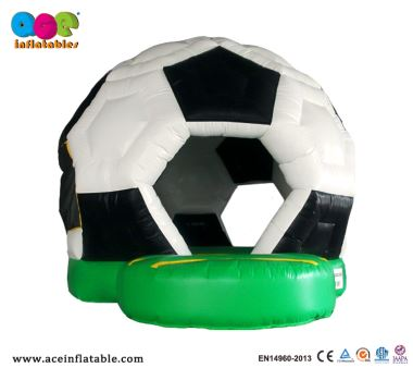 Soccer Mini Inflatable Indoor and Outdoor Inflatable Bounce House for Kids