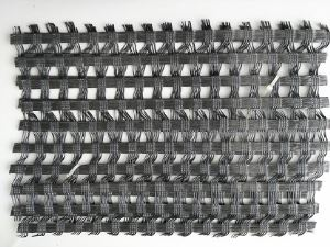 Polyester Warp Knitting Geogrid for road construction