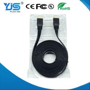 High Performance 1.8M 20PIN HDMI Cable High Speed Metallic Flat Ribbon HDMI 1.4 Versions