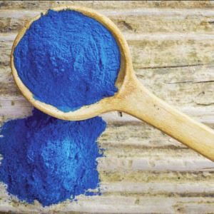 Healthy Food Additive Spirulina Extract Powder Natural Blue Pigment
