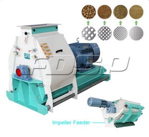 Widely Used Grinding Machine For Feed Mill Plant