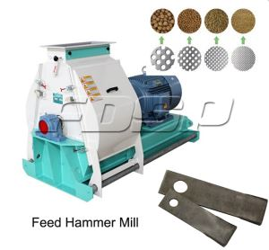 CE Approved Feed Hammer Mill For Grain Corn Grinding