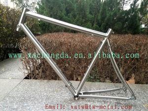 Split Titanium Road Bike Frame